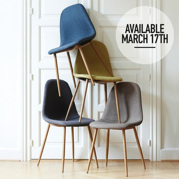 Ready for tomorrow's release of the new chairs? Price DKK 348,00 / SEK 478,00 / NOK 498,00 / EUR 39,00 / ISL 9798  NB! The chairs are not available for purchase in Ireland and the UK.  Søstrene Grene's interior catalogue is available online at www.sostrenegrene.com. You can find the link in the bio.  #chairs #newcollection #interior #inspiration #sostrenegrene #søstrenegrene #grenehome
