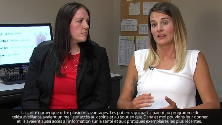Les infirmières Dana Higgins et Brittany Kachur ont assuré la télésurveillance de patients atteints d'une MPOC dans le cadre du programme de gestion des maladies chroniques LiveWell, offert par la région sanitaire de Saskatoon. Selon elles, ce type de télésoins à domicile bénéficie tant aux patients qu'aux professionnels de la santé.