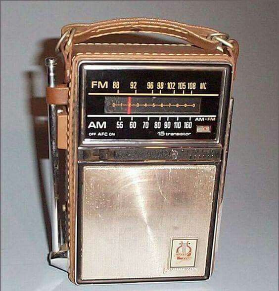 Remember when I had a transistor radio that i carried to hear cardinal games when I was in 6th grade