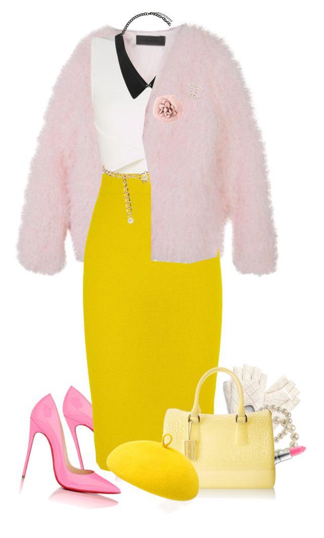 """Chanel #5"" by samhoran95 on Polyvore featuring moda, Rachel Zoe, BCBGMAXAZRIA, Christian Louboutin, J.Crew, ASOS, Old Navy, MAC Cosmetics, Furla e Mademoiselle Slassi"