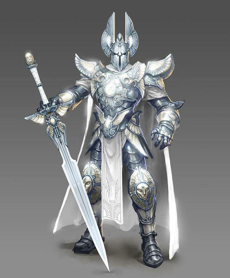 silver knight awesome!!!!! | Paladin armor, Fantasy armor ...
