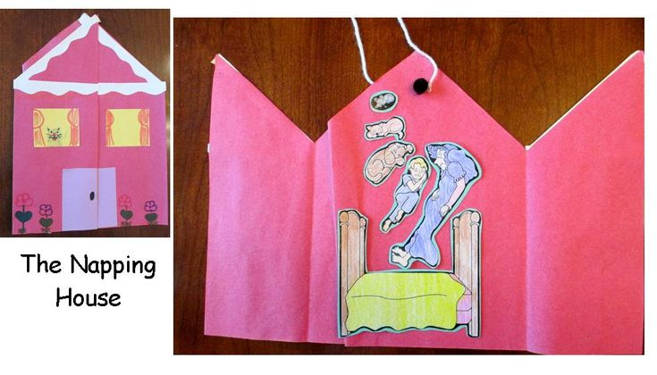Literacy - book extension for The Napping House