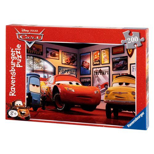 200-delige Carspuzzel. Leeftijd: 8+ Jaar. Afmeting: verpakking 33 x 23 x 3,5 cm. Afm. Puzzel 49 x 36 cm. - Cars 3 Vrienden Puzzel  XXL, 200st