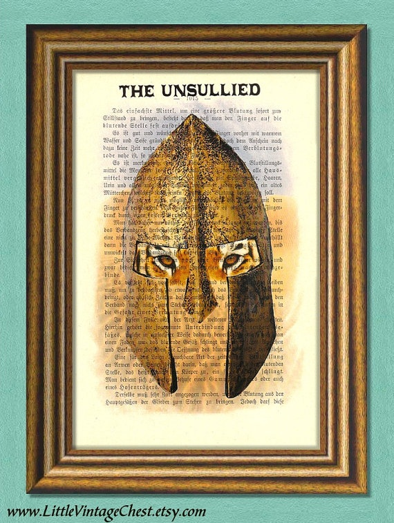 Game of Thrones THE UNSULLIED   Dictionary by littlevintagechest, $7.99