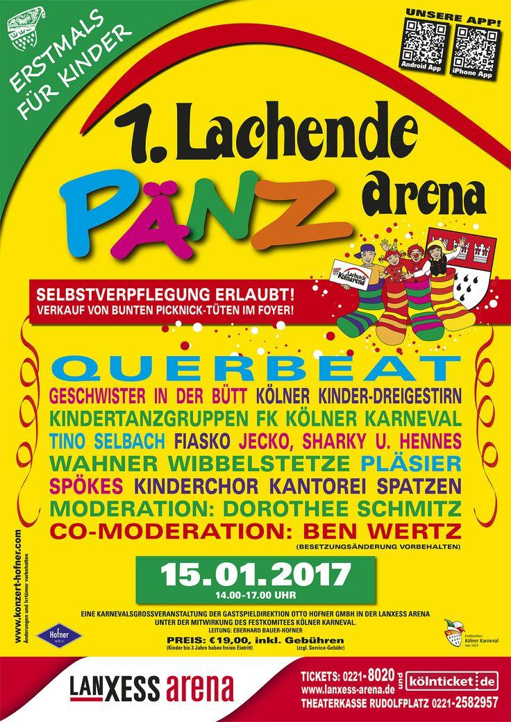 NEWS:  Lachende Kölnarena nur für Kinder feiert 2017 Premiere