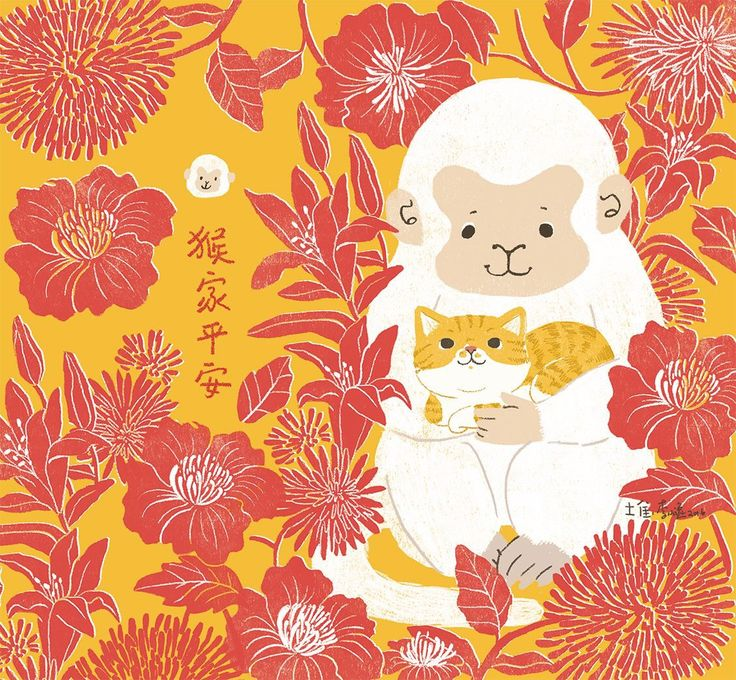 Lee Yiting on Behance chinese new year illustration