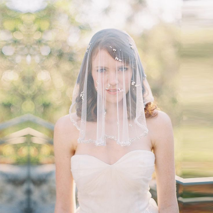 Find More Bridal Veils Information About Top Quality Luxury Church Beaded Crystal Wedding Net 2016