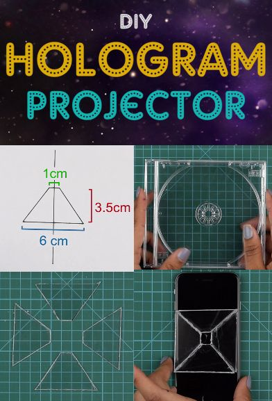 DIY Hologram Projector - Make your own hologram at home and amaze the entire…