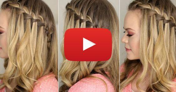 Les 25 meilleures id es concernant cascade tresse sur pinterest tresses de cheveux tresses en - Comment faire les tresses ...