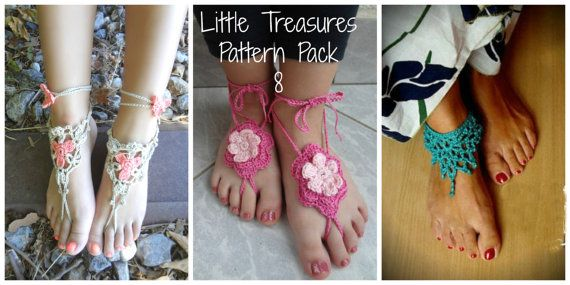 Crochet Pattern Discount Pack 8 a photo tutorial ankle by sewella