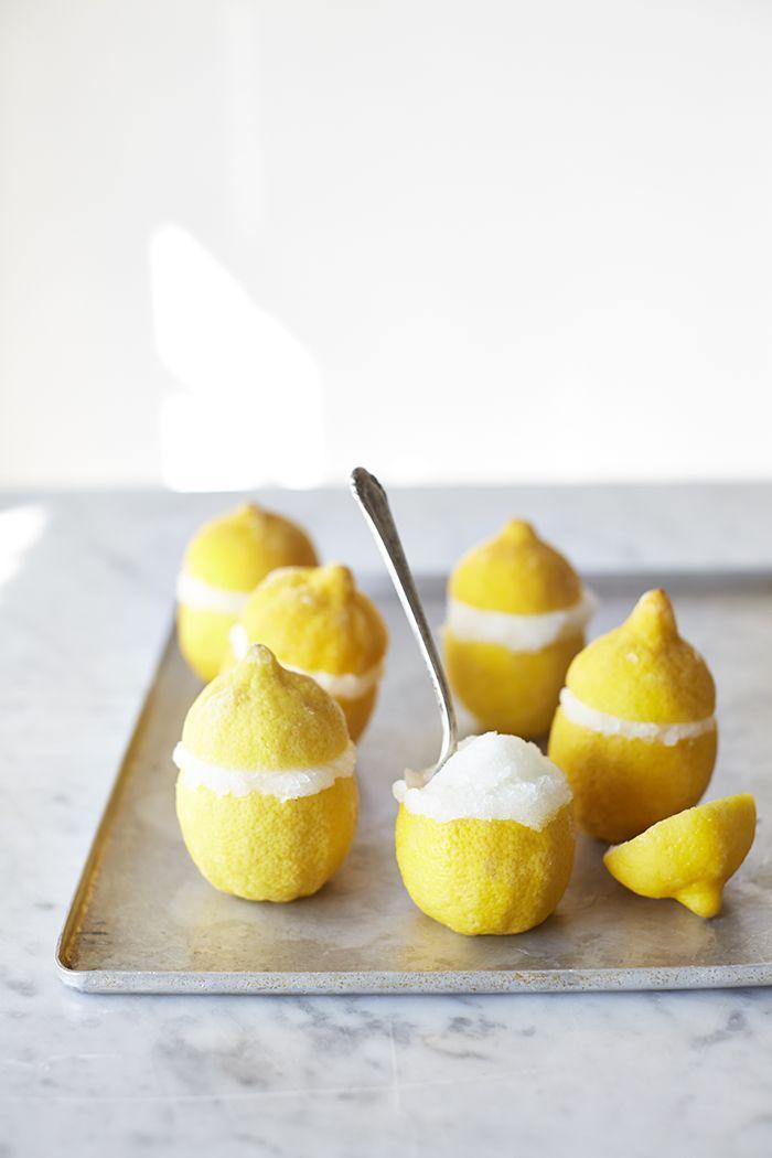Lemon sorbet- This is sooo cute!