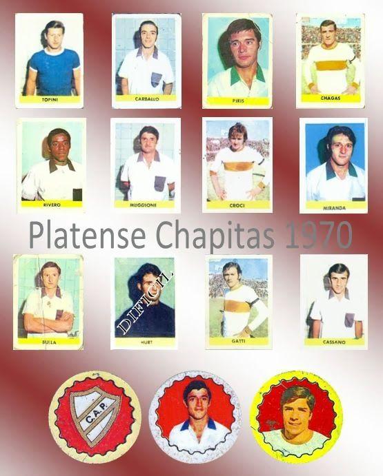 Figuritas de Futbol: Figuritas Chapitas 1970 - Platense