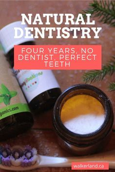 Natural self dentistry methods that really work. t's been four years since I had dental insurance and consequently it has also been four years since I have seen a dentist. In this time I have been following an all natural self dentistry regime. I will share my dental regime with you and also provide an update from my recent dental check up that included a cleaning and x-rays.