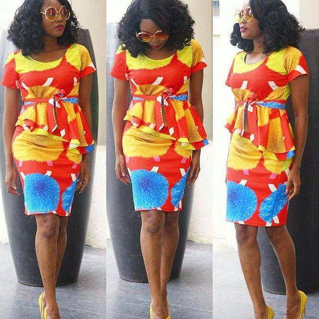 dc7ba2551d Stylish Ankara Skirt and Blouse Styles; Ladies Ankara Designs 2018...Stylish  Ankara Skirt and Blouse Styles; Ladies Ankara Designs 2018