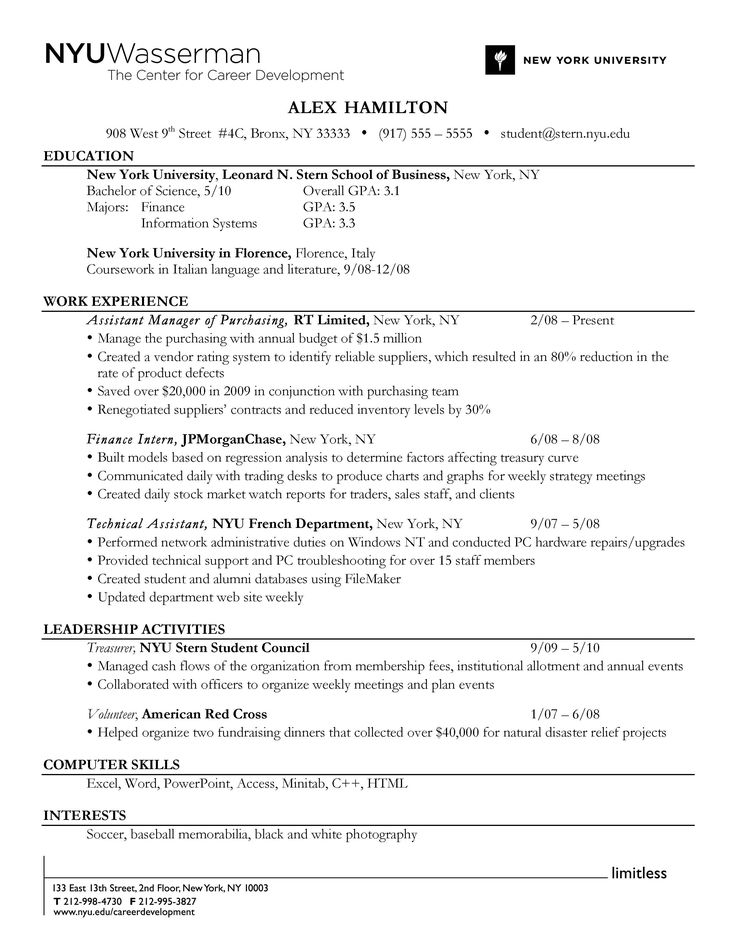 do  use a reverse chronological order resume format to