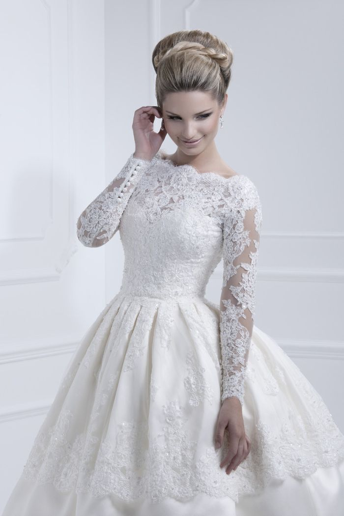 13 best images about ellis bridals 2015 on pinterest for Long sleeve dresses to wear to a wedding