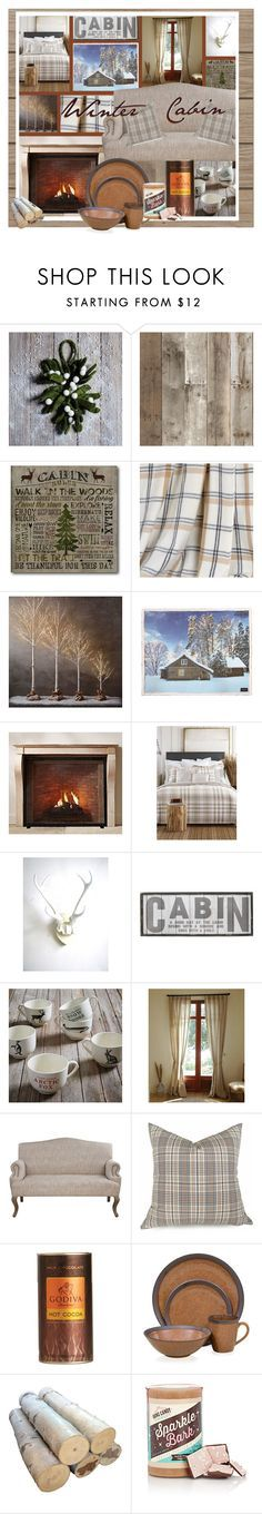 Winter Cabin By Lovelyblk Liked On Polyvore Featuring Interior Interiors Berkshire