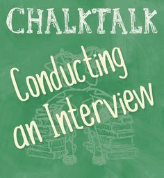 Helpful tips on conducting an interview for yearbook students! #Yearbook…