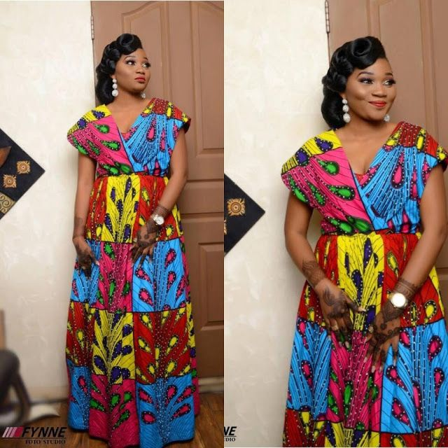 Beautiful Ankara Maxi Gown Styles   Best Ankara Styles in Town for Ladies -  DeZango Fashion Zone 953c1d9df