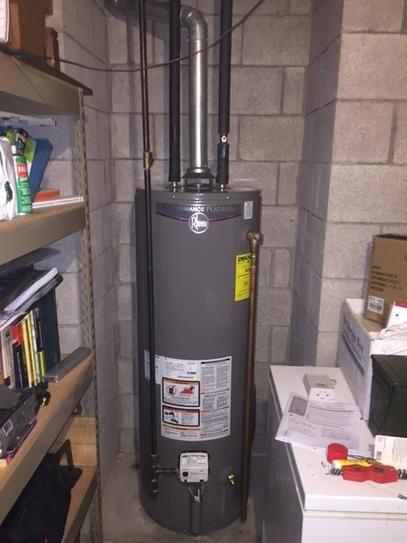 tall 12 year btu high efficiency natural gas water heater