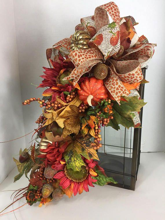 Best fall lanterns images on pinterest