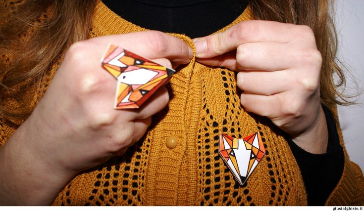 Anello volpe geometrica - Giusi Alghisio