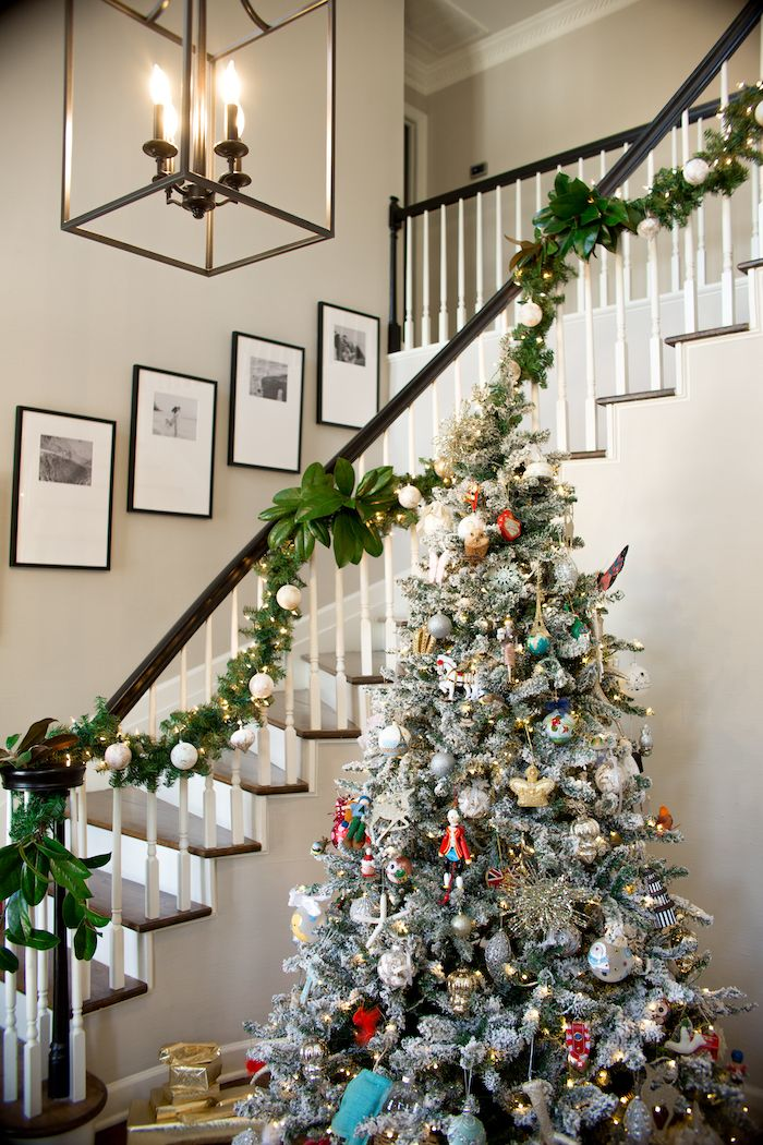 Friday S Five Two Weeks With Hudson Magnolia Garland Magnolia Christmas Decor Christmas Decorations Diy Outdoor