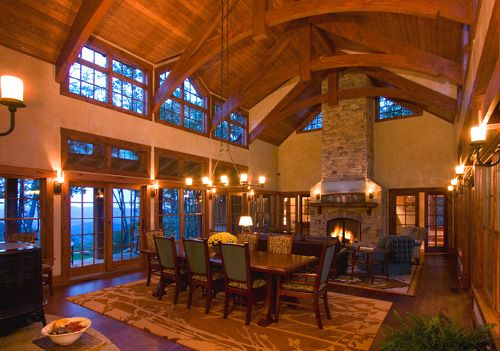 Rustic Elegance Homes Elegant Rustic Mountain Home