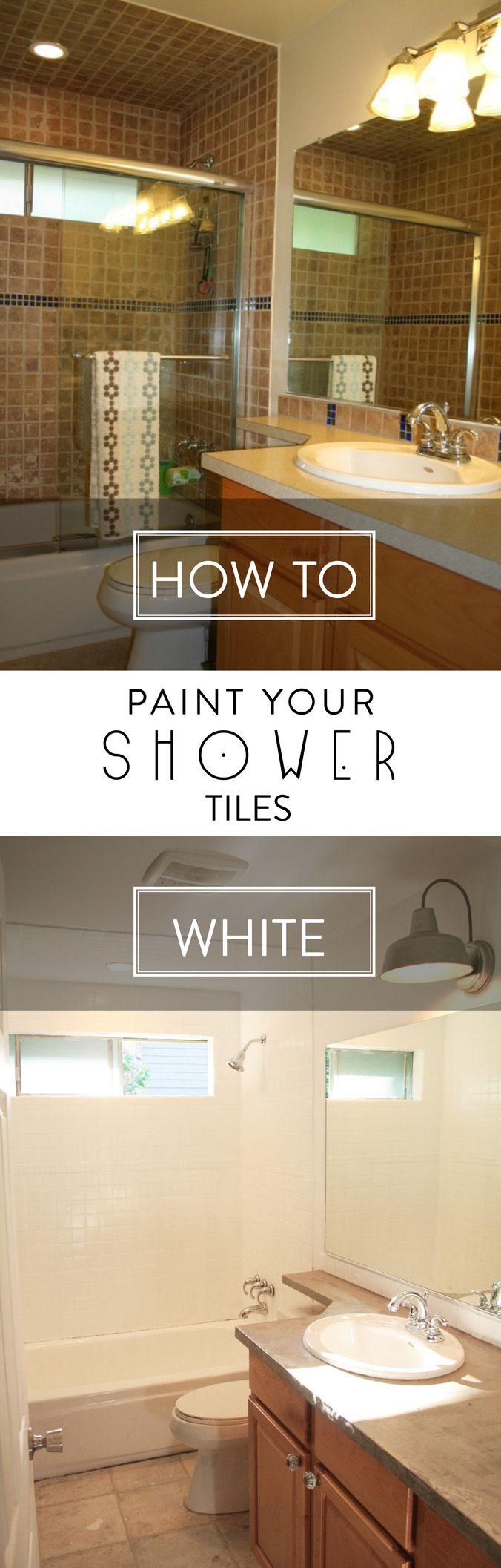 Painting Wall Tiles Kitchen 25 Best Ideas About Paint Tiles On Pinterest Paint Bathroom