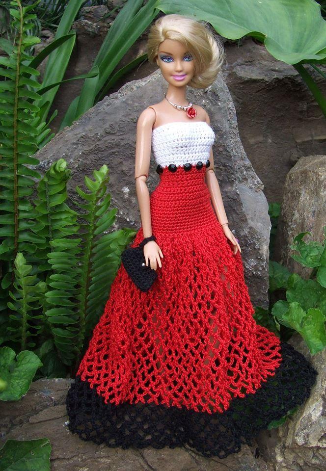 1422 Best Barbie Doll Knit Or Crochet Images On Pinterest Barbie