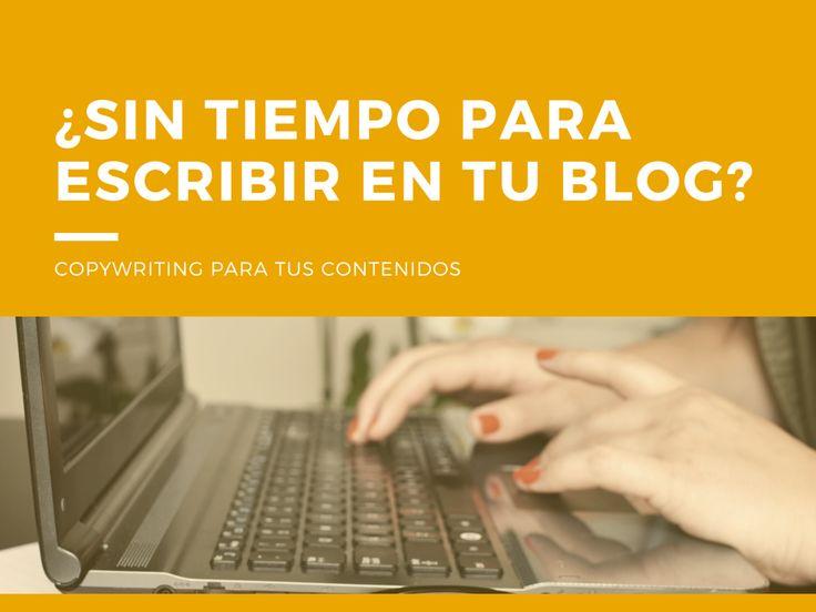 ¿Sin tiempo para escribir contenidos en tu blog? Descubre mi sistema de cinco pasos para redactar contenidos más rápido.