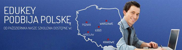 Zapraszamy na szkolenia w Warszawie, Łodzi, Krakowie, Poznaniu i Wrocławiu! Zapisz się na: http://www.edukey.pl/szkolenia/office-excel