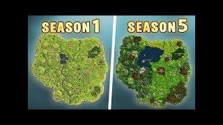 fortnite map season 5