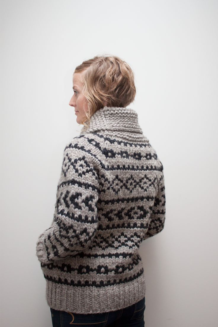 Loved every minute of this knit!! I've made 3 already and am planning number 4!! The pattern comes with 'blanks' for those who are feeling adventurous and want to create their own colourwork!