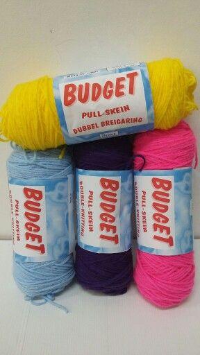 Budget 100g double knit pullskein