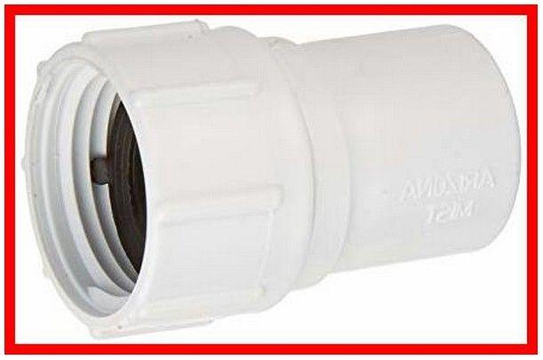 3 4 Inch Pvc To Garden Hose Adapter In 2020 Garden Hose Hose Pvc