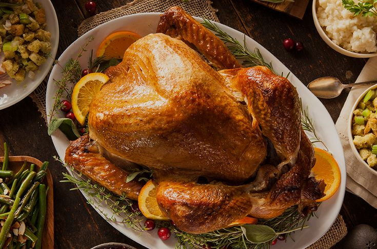 Use this turkey calculator to determine the size of the bird required and how long to cook.