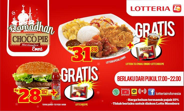 Lotteria: Promo Ramadhan @Lotteria_Indo