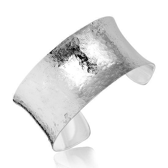 Cuff Armband med Cirkelmönster