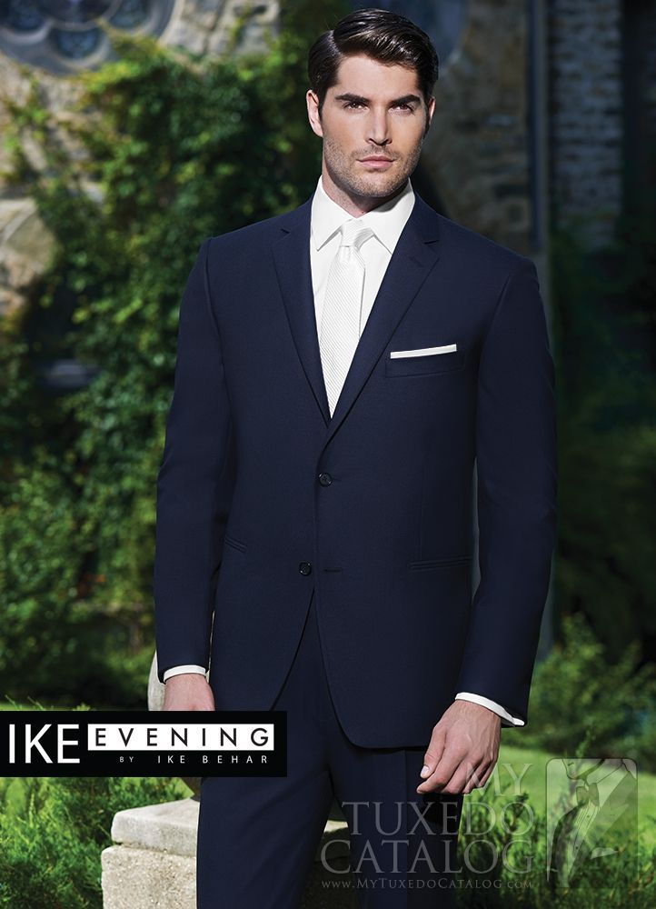 Asheville Tuxedo by Mitchell's - 'Collin' - Navy -  Suit - Ike Behar - Slim Fit