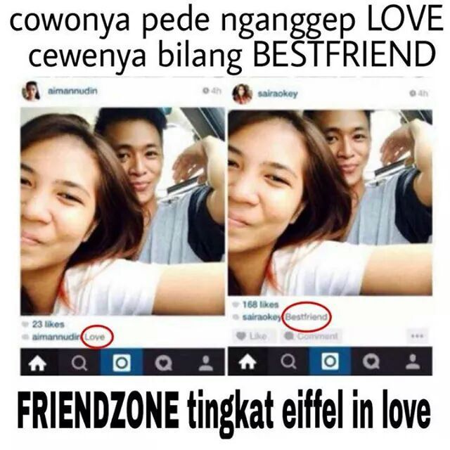 Friendzone Level Eiffel in Love