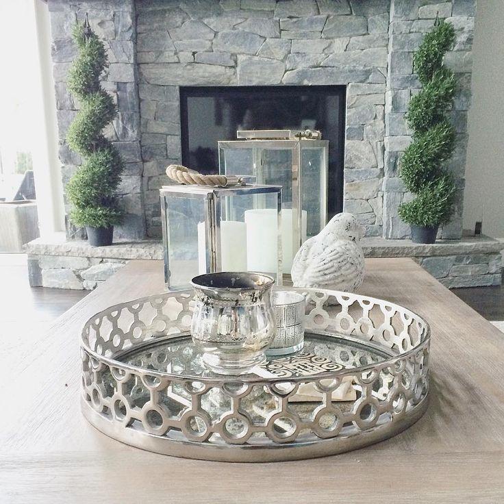 coffee table decor | interior design | family room decor | instagram: kristeneil