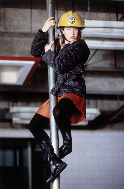 Bridget Jones's Diary | Bridget (Zellweger) on assignment | http://www.miramax.com/movie/bridget-jones-diary