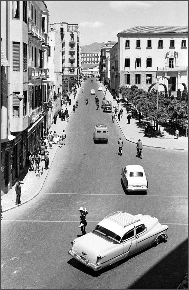 Calle Alcazabilla. Málaga, Spain. Años 50.