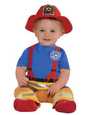 Toddler First Fireman Costume
