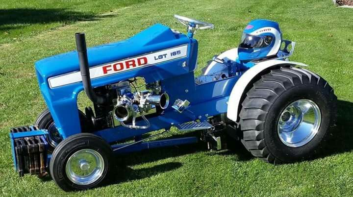 Ford Pulling Tractors : Best images about garden tractor pulling racing on