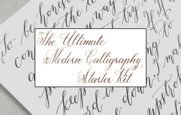 17 Best Images About Learn Calligraphy On Pinterest