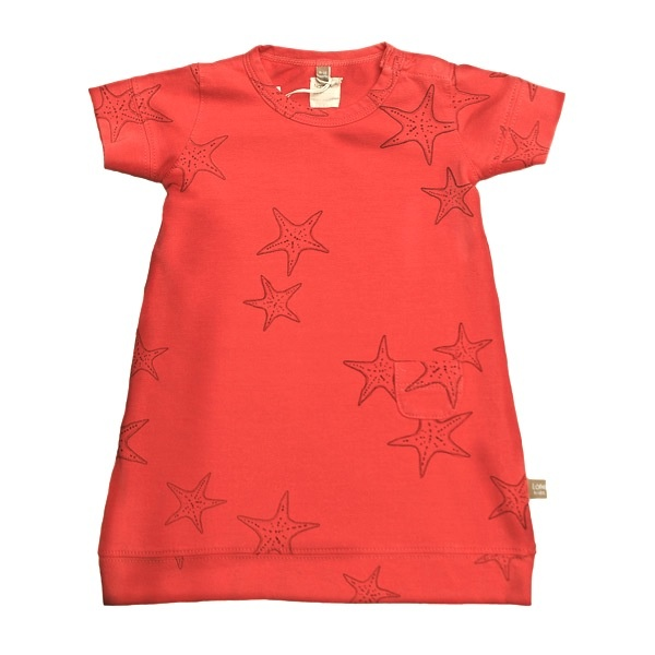 New! Dress with sea stars