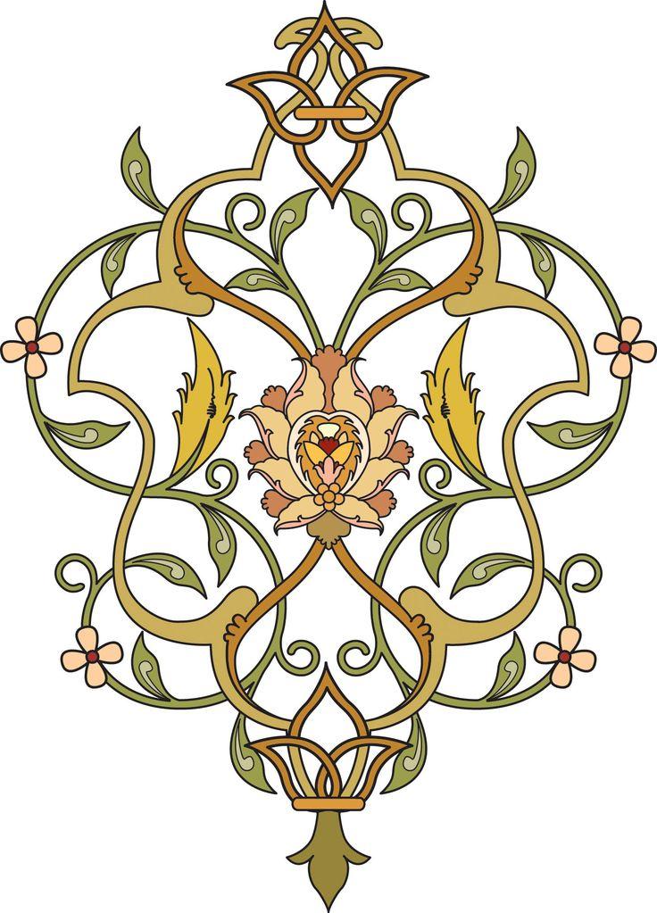 70-Floral Pattern (Khatai)