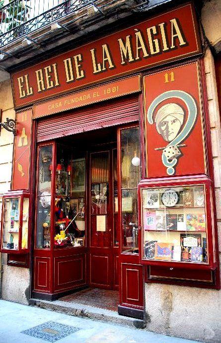 Tiendas y comercios tradicionales, antiguos o curiosos en Barcelona